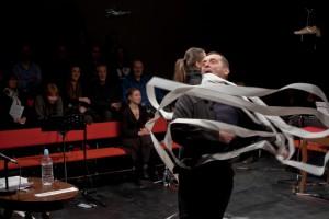 Ibsenov neprijatelj naroda kao Brechtov poucan komad, photo by Srdjan Veljović
