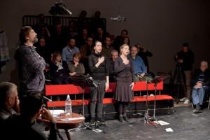 Ibsenov neprijatelj naroda kao Brechtov poucan komad, foto 2, photo by Srđan Veljović