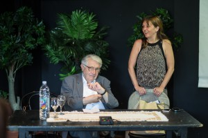 Predavanje o Umjetnosti, Milivoj Solar i Natasa Rajkovic